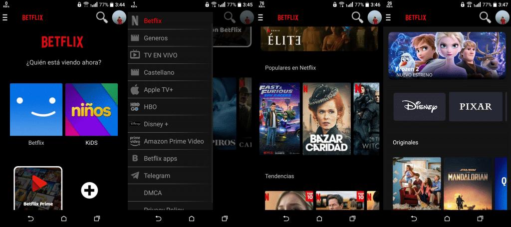 Betflix TV APK  Android  V 1.0 [latest] 1