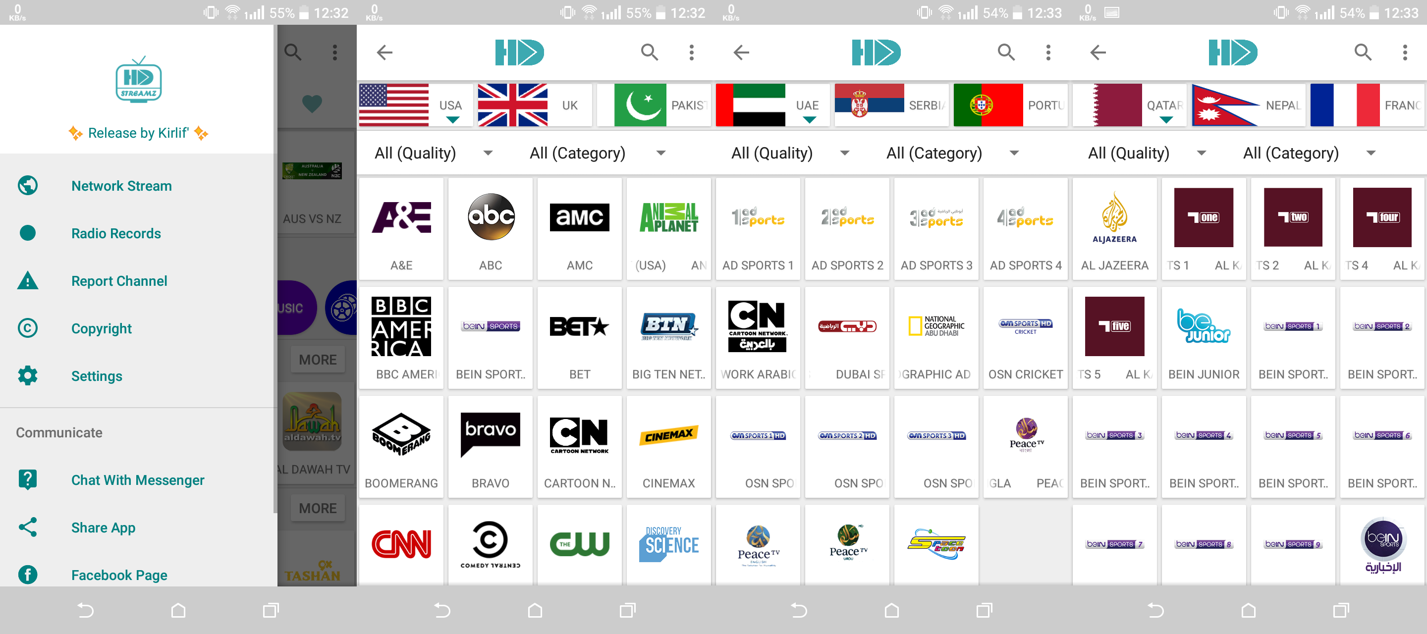 HD Streamz - Download for Android APK[latest] 1