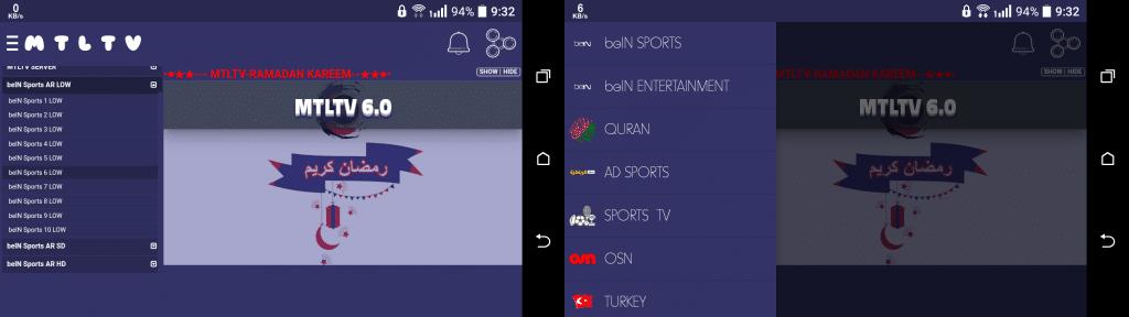MTLTV apk IPTV