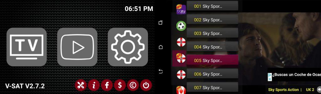 Vsat 2.7.2 IPTV
